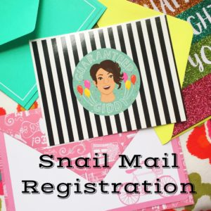 Sign Up For Snail Mail Surprises! - Guaranteed Giddy