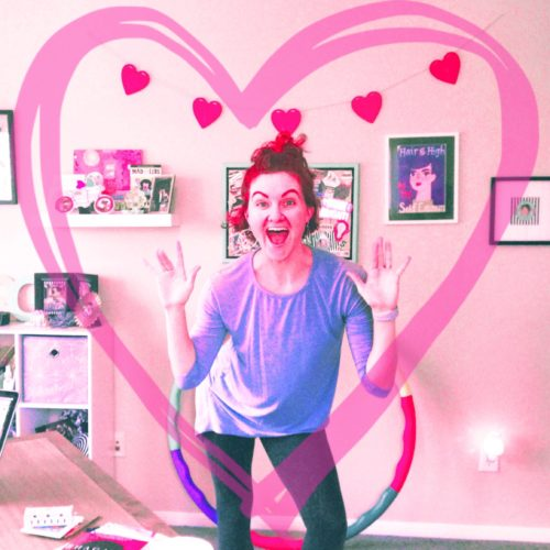 giddy galentine dance party