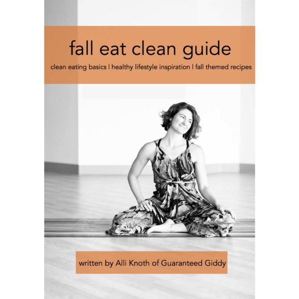 Fall Eat Clean Guide cover photo