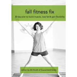 Fall Fitness Fix Cover Photo